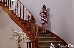 MILF Cory Chase fakes hurt to get dick - Naughty America