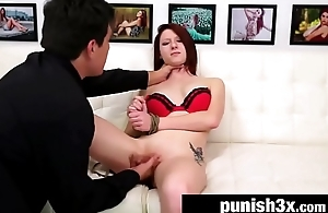 Casting Agent Destroys Small Town Cutie Macy Monroe