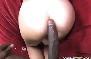 Jizzelle Ryder Picked Up By a Black Man
