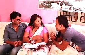 Prathiba Aunty Sex with her students