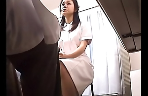 Japanese Voyeur Footage of Clumsy Nurses Making up for Their Mistakes to a Dominant Doctor 2 [upload king]