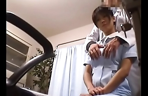 Japanese Voyeur Footage of Clumsy Nurses Making up for Their Mistakes to a Dominant Doctor 1 [upload king]