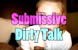 Submissive teen blowjob dirty talk