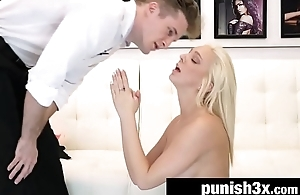 Blonde Teen Tiffany Watson Turned Into Obedient Slave