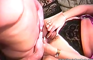 Busty Babe On a Threesome Fuck
