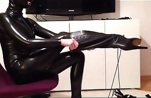 crazyamateurgirls.com - Mask, Catsuit, Ballet Boots &amp_ Corset - crazyamateurgirls.com