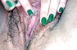 Touching my wet pussy
