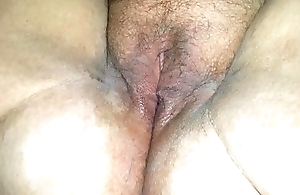 Making out my wet pussy with a bottle, a toy, and a vibe until I cum