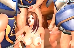 Medieval 3D Scene - Uncensored At WWW.HENTAIXDREAM.COM