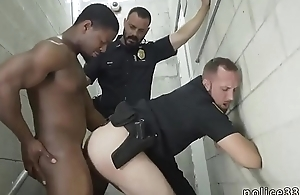 Nude firemen cops and stars gay porno Bonking the white officer with