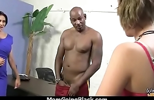 Cougar with Beamy Tits Seduces Young Black Guy 13