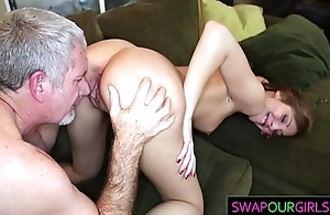 Old pervs sharing their daughters